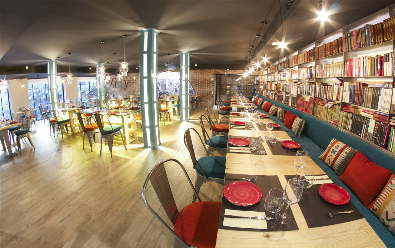 MADRID AND THE ZITTY RESTAURANTE