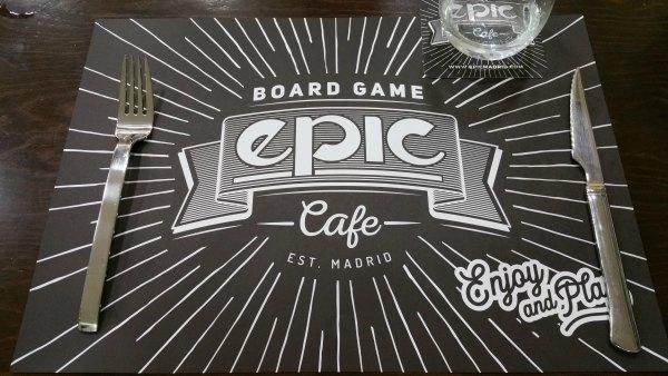 EPIC BOARD GAME CAFE: TODOS LOS JUEGOS QUE IMAGINAS Y MÁS…