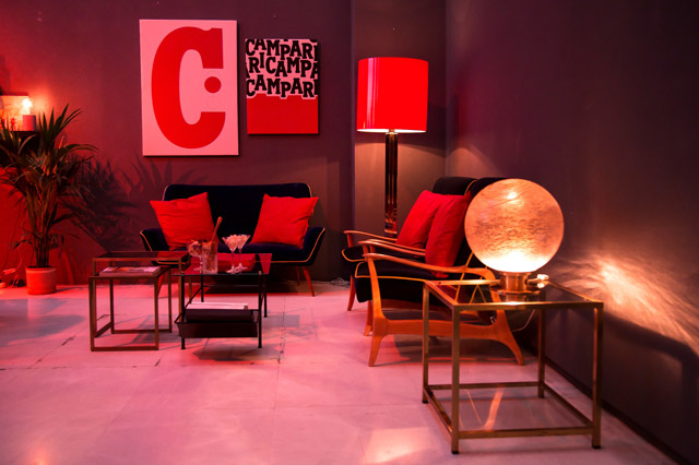 Unexpected Red Social Club de Campari